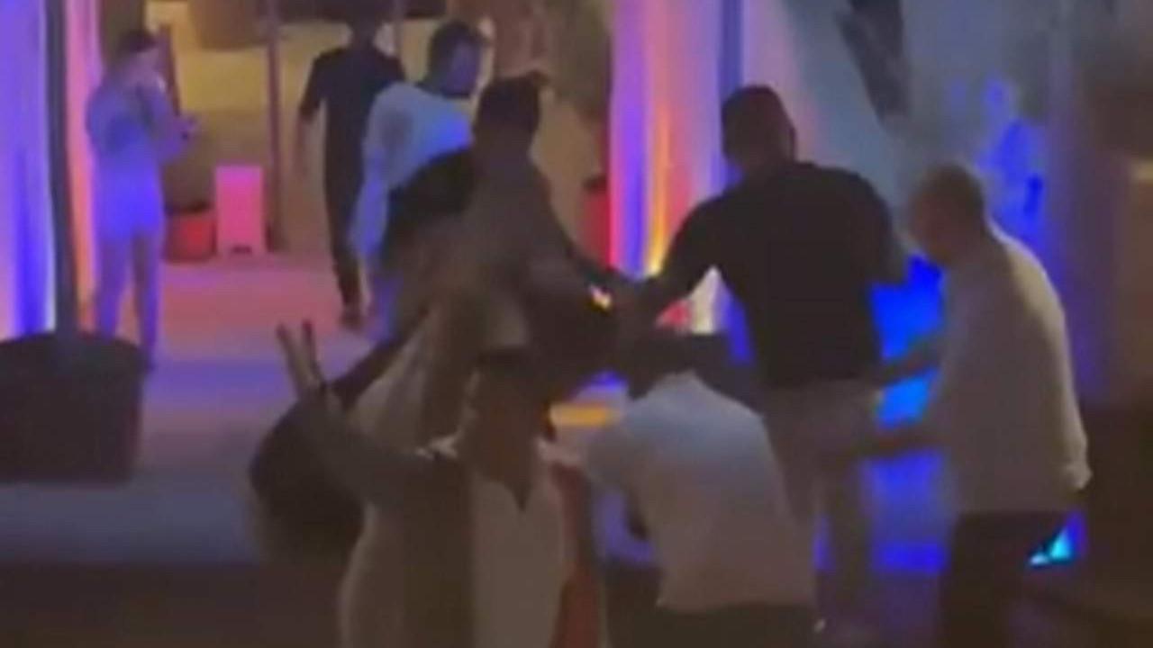 Alaçatı'da gece kulübü önünde kan donduran vahşet