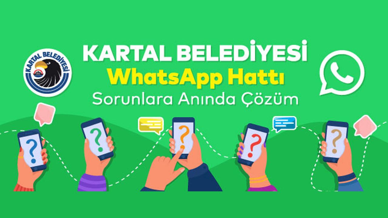 Kartal Belediyesi WhatsApp Hattı ile Sorunlara Anında Çözüm