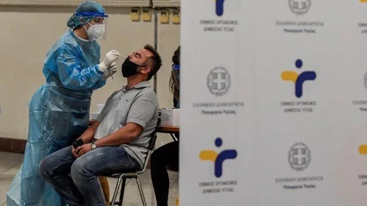 Yunanistan ücretsiz test imkanını sonlandırıyor