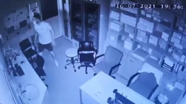 Şişli'de hastaneden kanser ilacı hırsızlığı kamerada - Resim: 4