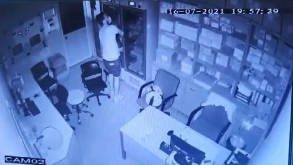 Şişli'de hastaneden kanser ilacı hırsızlığı kamerada - Resim: 3