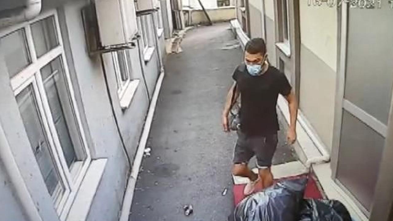Şişli'de hastaneden kanser ilacı hırsızlığı kamerada