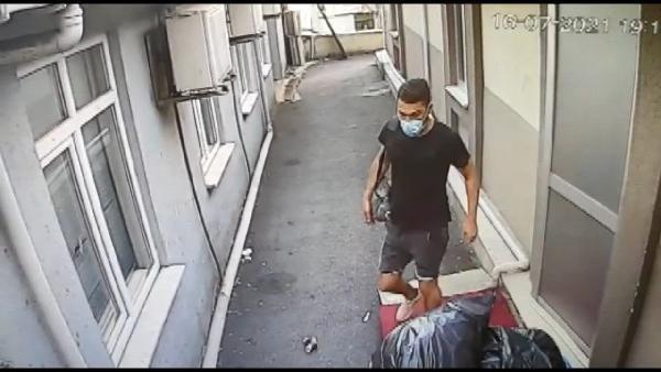 Şişli'de hastaneden kanser ilacı hırsızlığı kamerada - Resim: 1