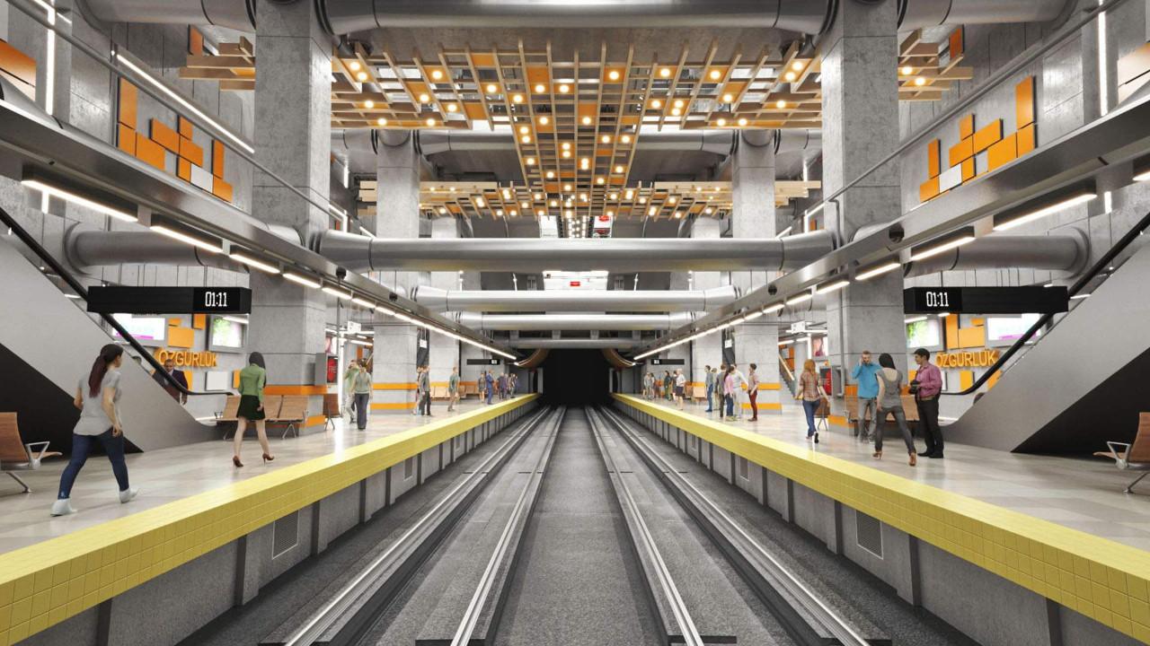 Mersin Metrosu'nda en önemli aşama tamamlandı