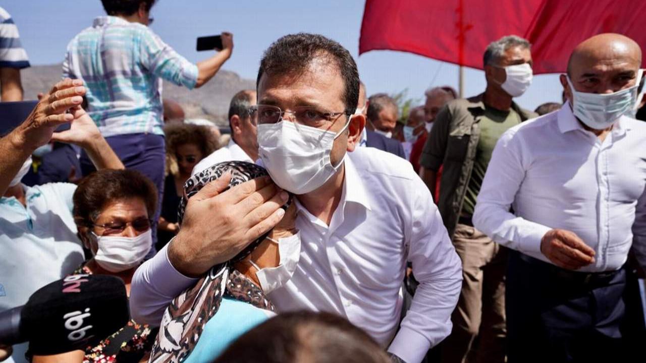 İmamoğlu CHP lideri Kılıçdaroğlu ve diğer Büyükşehir Başkanları ile Muğla'da