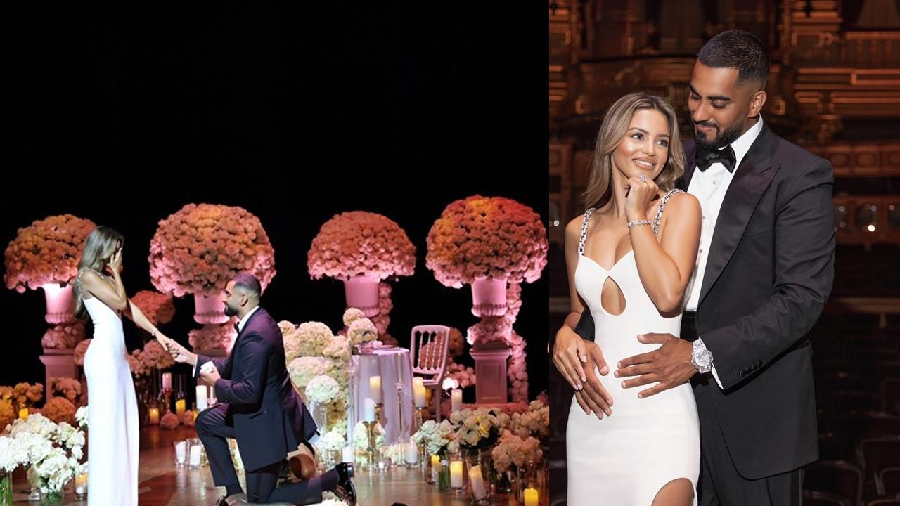 Kıskandıran evlilik teklifi:  2 milyon dolarlık nişan yüzüğü...