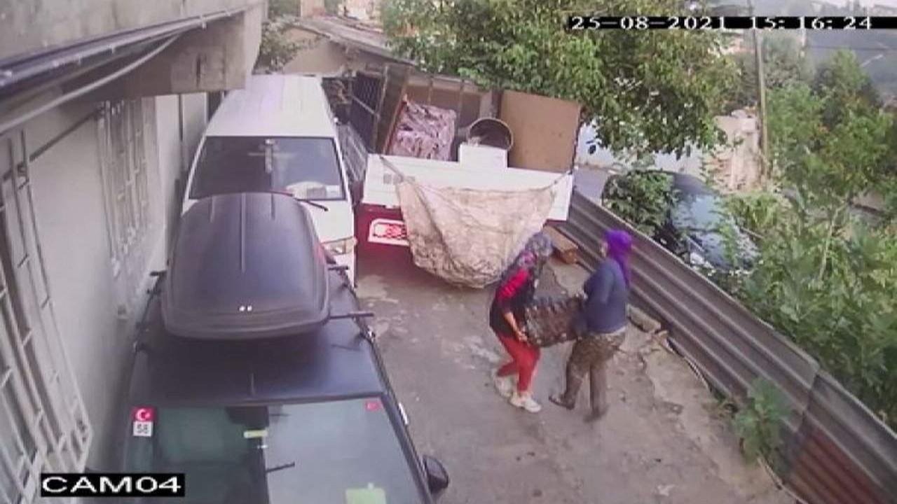 İstanbul'da inanılmaz hırsızlık! Otomobilin motorunu çaldılar