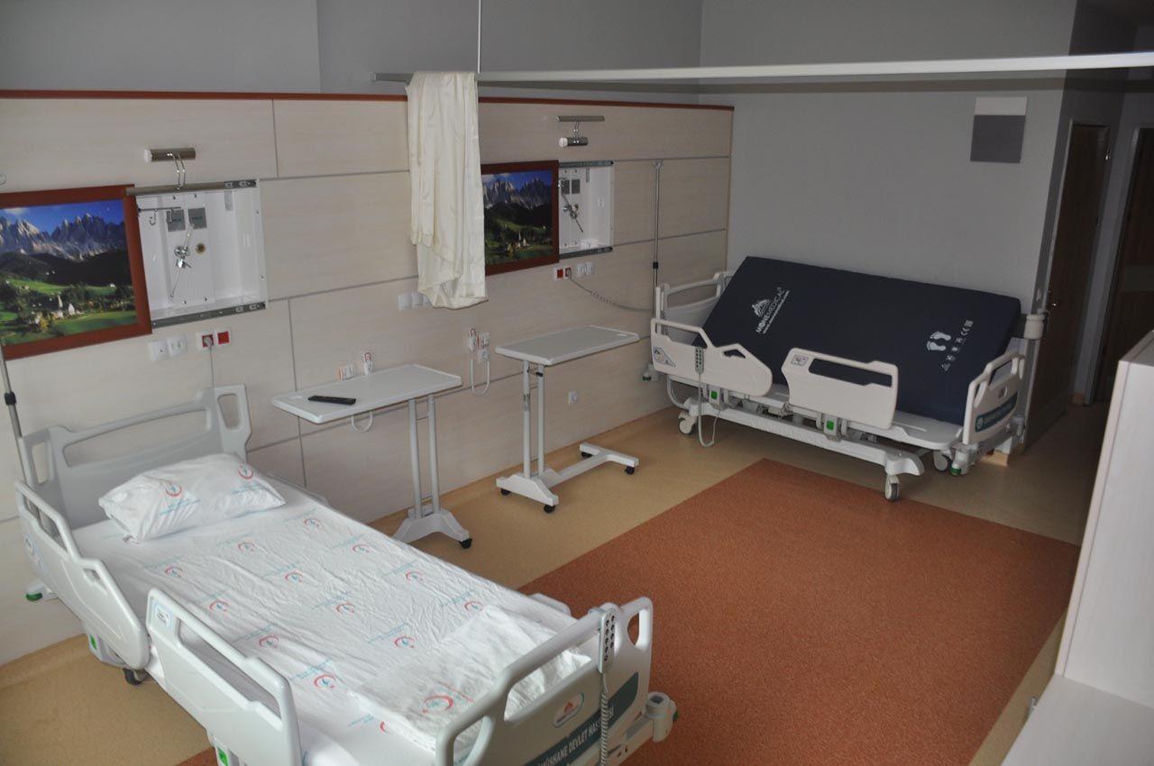 Heyelan riski kaldırılan hastane, 6 yıl sonra açılıyor - Resim: 3
