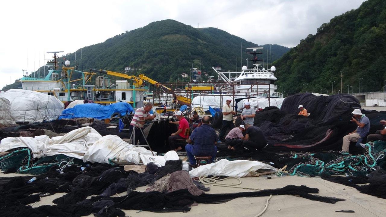 Balıkçılar geri sayıma başladı.... Son hazırlıklar böyle görüntülendi