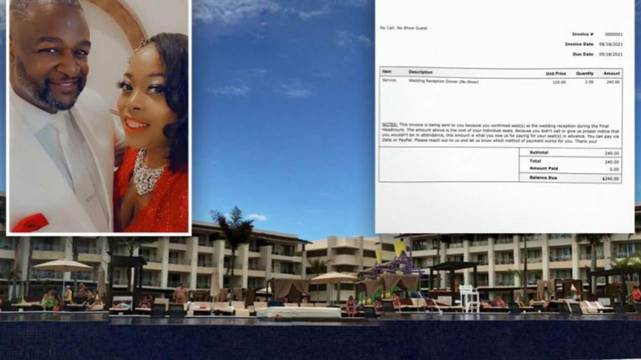 Yeni evli çift düğünlerine gelmeyen davetlilere 2 bin TL fatura gönderdi
