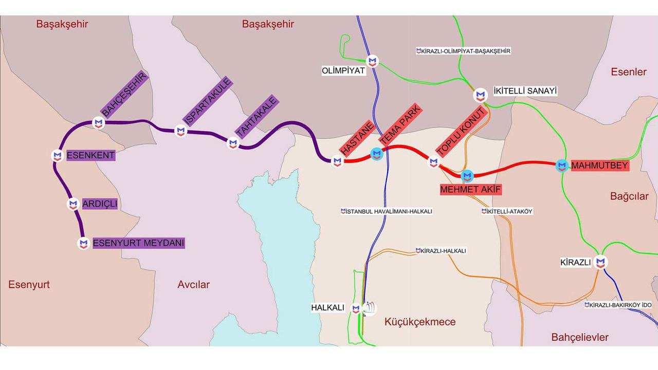 İBB Zafer Bayramı'nda yeni bir metro projesi müjdesi