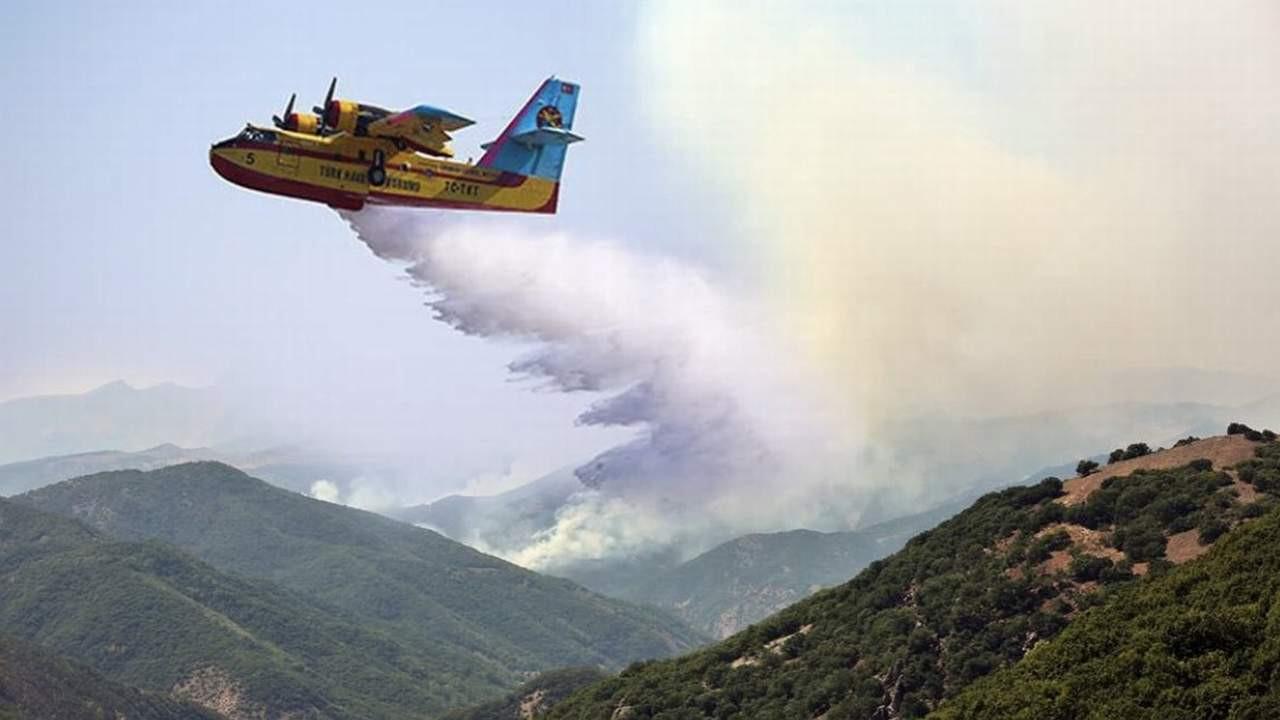 AK Partili başkandan yangına photoshoplu müdahale