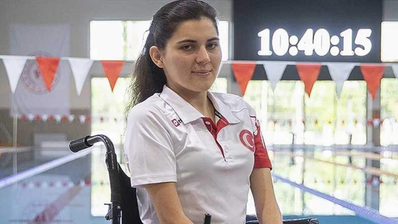 Milli yüzücü Elif İldem, 21 yıllık paralimpik rekorunu kırdı
