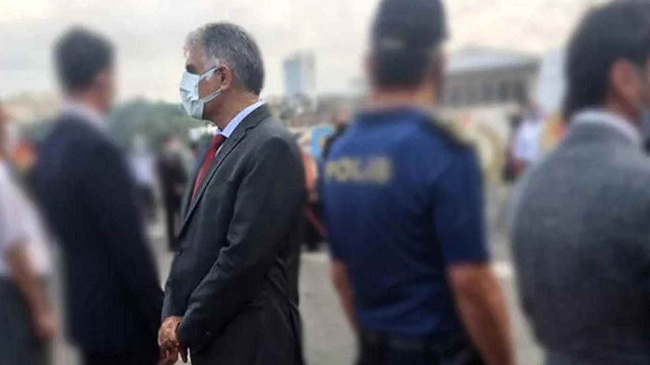 CHP'li Ali Narin Cumhurbaşkanı Erdoğan'ın mesajı okunduğu sırada sırtını döndü