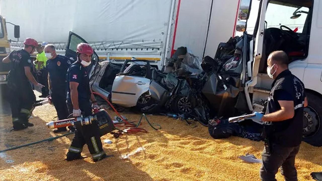 Manisa'da katliam gibi kaza: Ölü ve yaralılar var