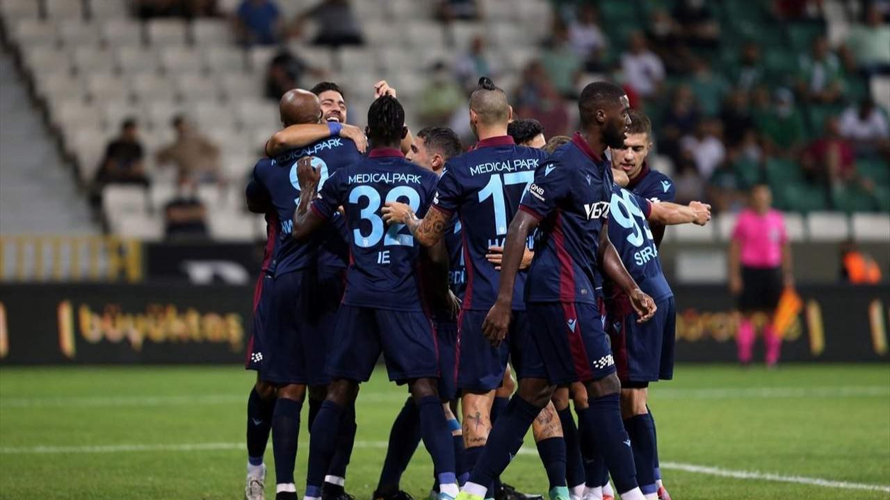 Trabzonspor Giresunspor'u yenip 3'te 3 yaptı