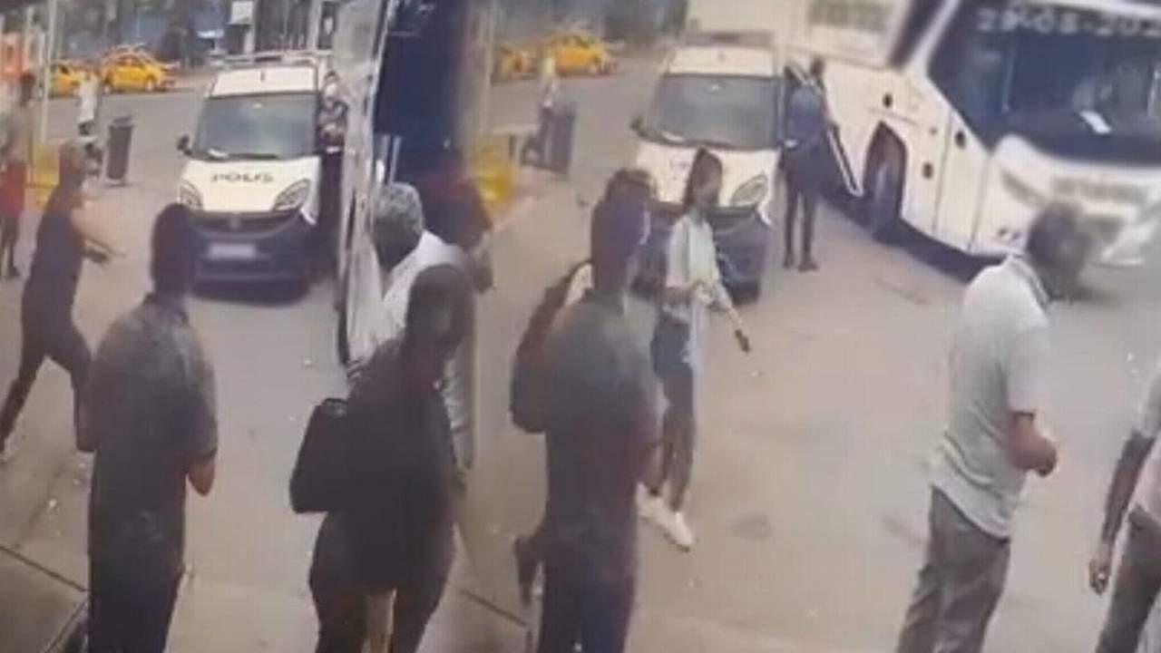 Polis memuru hayatının şokunu yaşadı