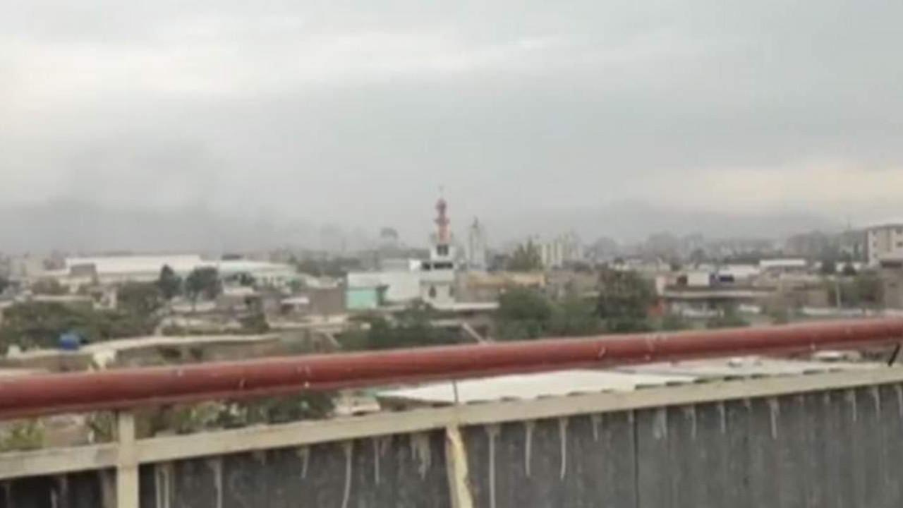Kabil havalimanına çok sayıda roket atıldı
