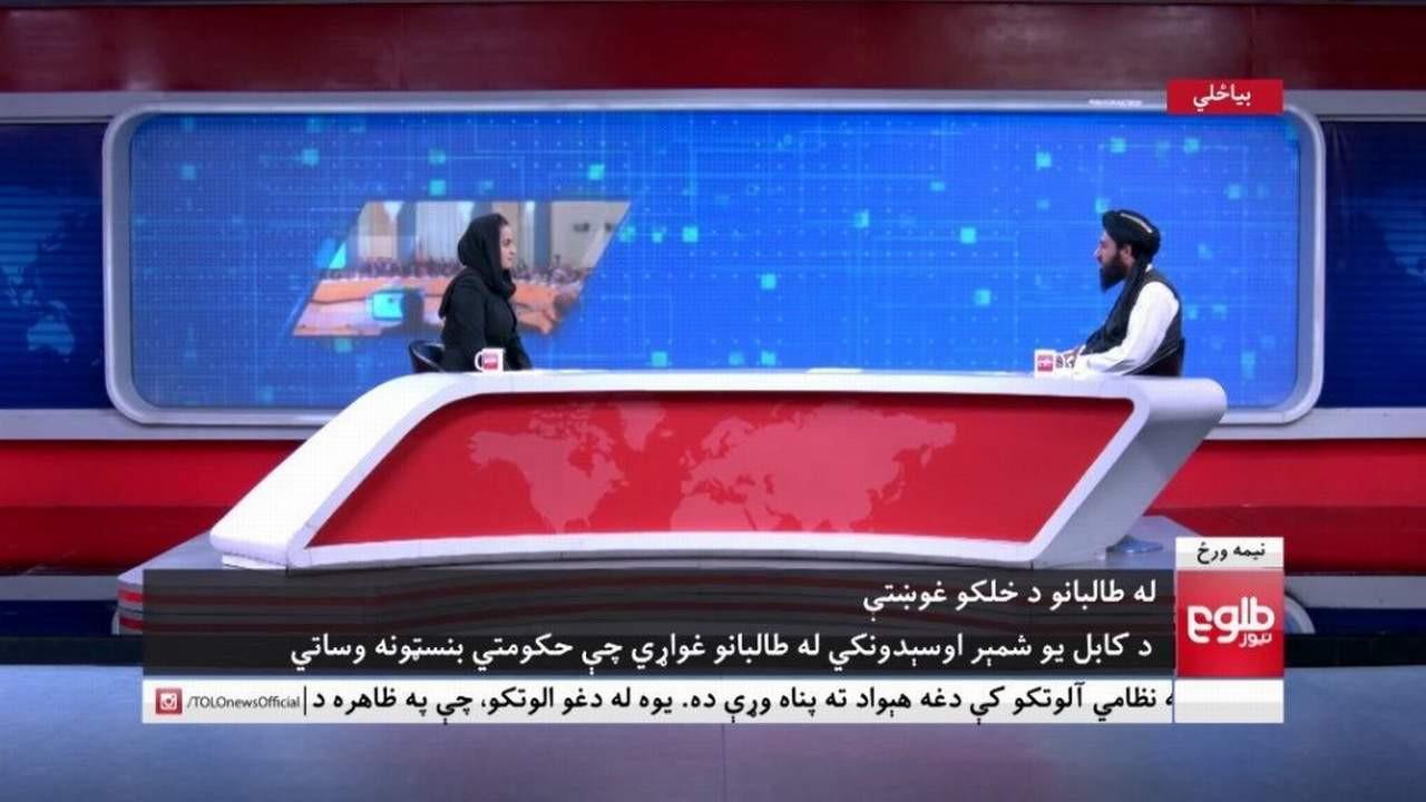 Taliban sözcüsüyle röportaj yapan kadın gazetecinin akibeti beli oldu