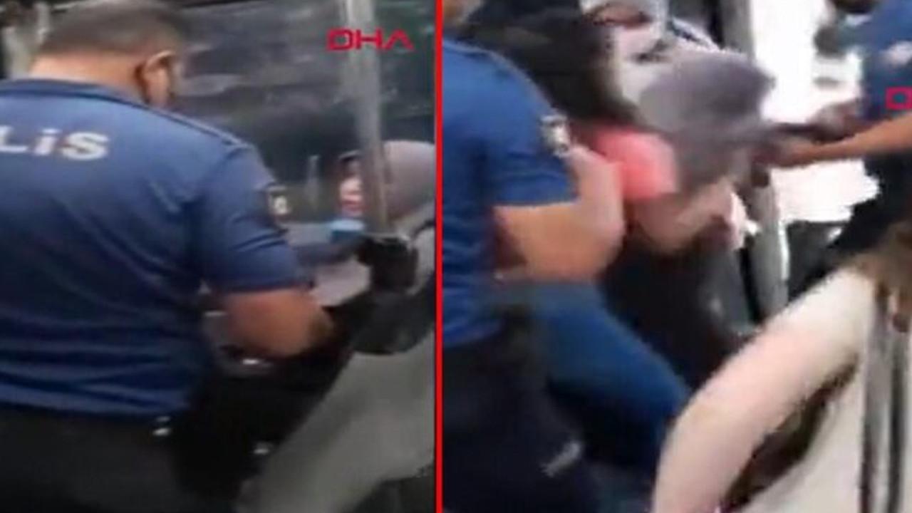 Maske karşıtı kadın bu kez İETT otobüsünü karıştırdı