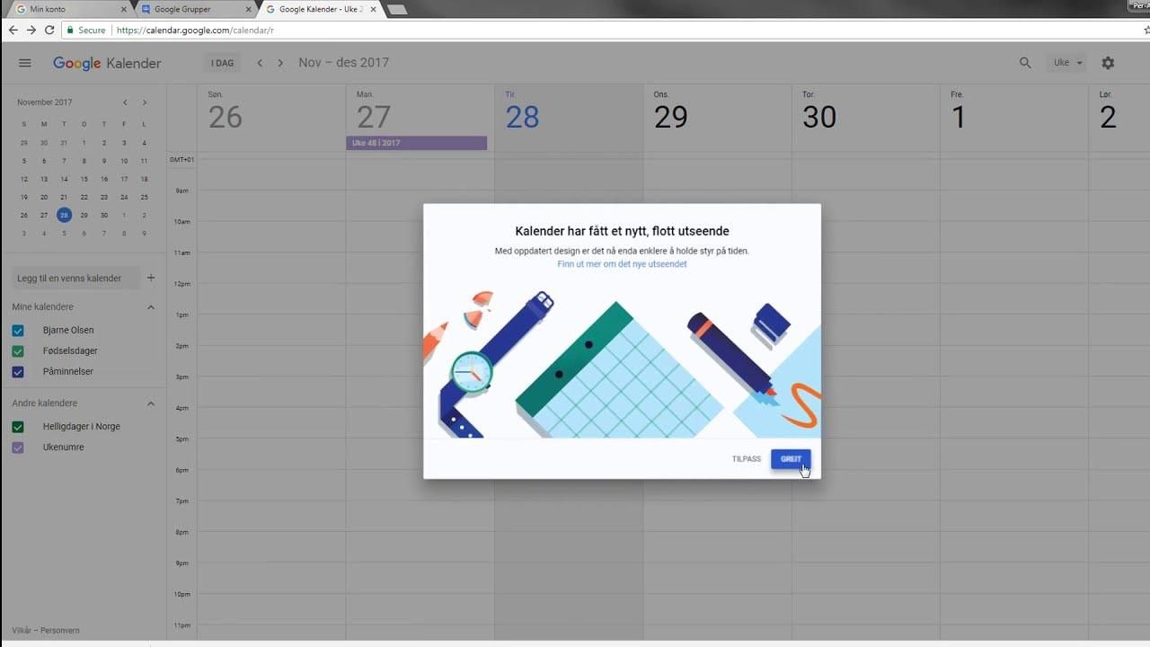Google Takvim kullanıcılarını sevindirecek güncelleme