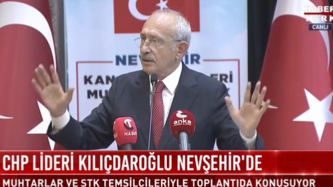 Kılıçdaroğlu: Cumhurbaşkanı olacak kişi her gün konuşmaz