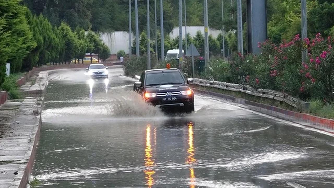 Zonguldak'ta aşırı yağış ve heyelan