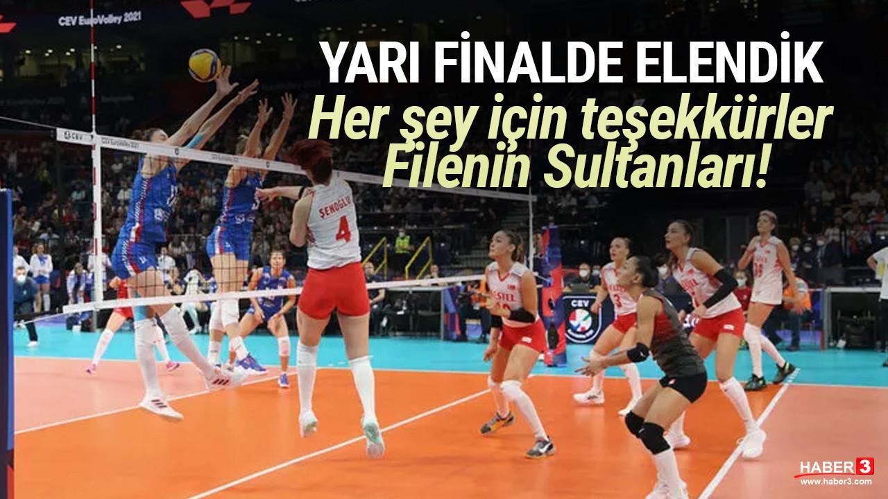 Filenin Sultanları yarı finalde elendi