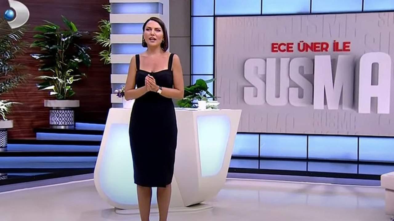 Ece Üner ile Susma programında istifa depremi