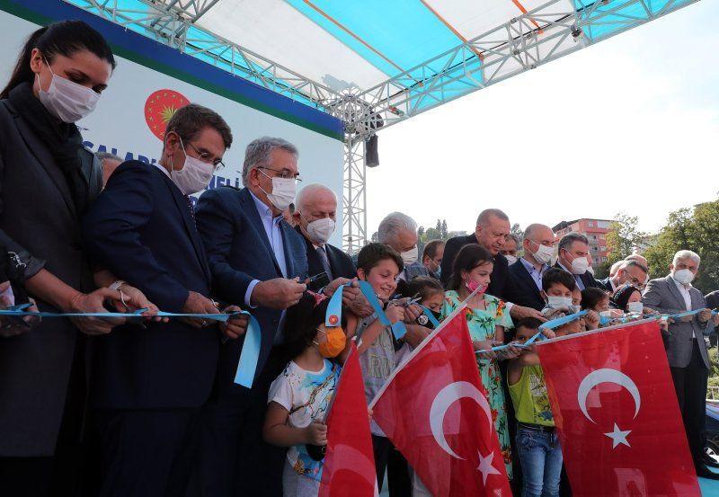 Erdoğan'ın açılış törenindeki dikkat çeken diyaloğu: ''Ulan oğlum bu ne hal ?'' - Resim: 2