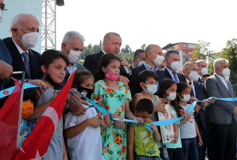 Erdoğan'ın açılış törenindeki dikkat çeken diyaloğu: ''Ulan oğlum bu ne hal ?'' - Resim: 3