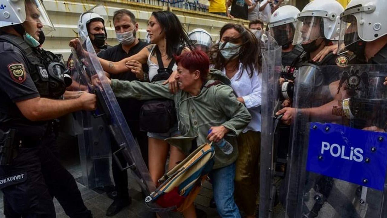 İstanbul'da 1 Eylül açıklamasına polis müdahalesi: 47 gözaltı