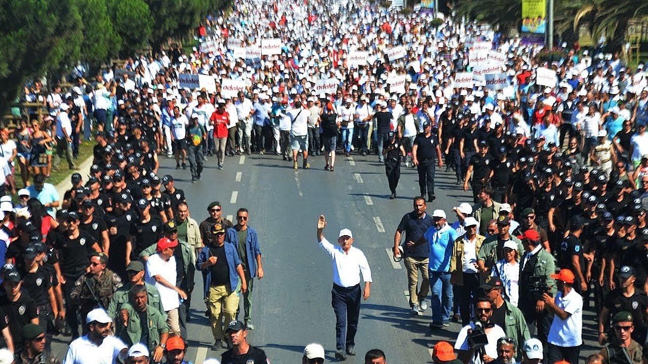 CHP'den Erdoğan'a Adalet Yürüyüşü yanıtı: ''Peki sen kimlerle yürüdün?''