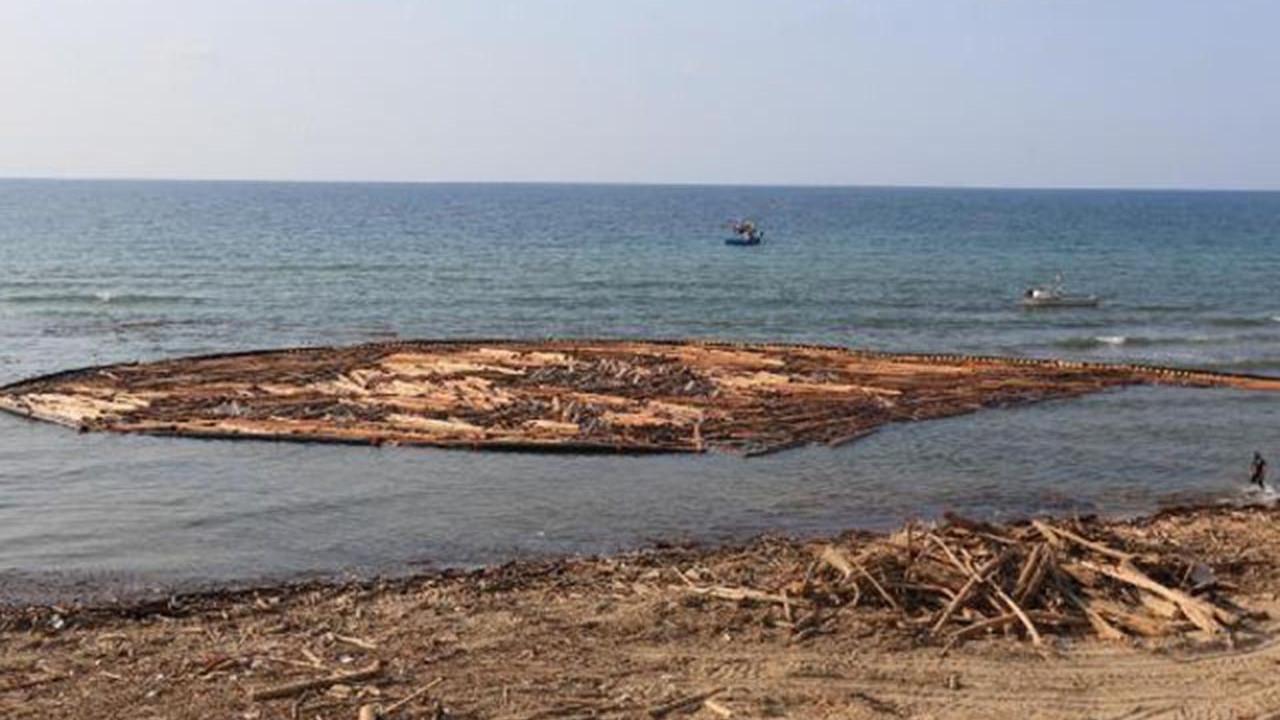 Karadeniz'de sel felaketinde sürüklenen  tomruklar, balıkçılığı da vurdu