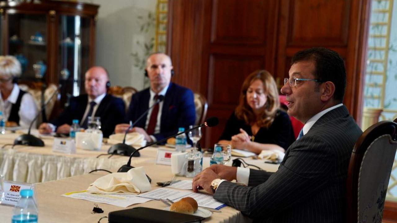 İmamoğlu'ndan Balkan ülkelerine: ''Ortak tarihsel köklerimizi fırsat olarak değerlendirmeliyiz''