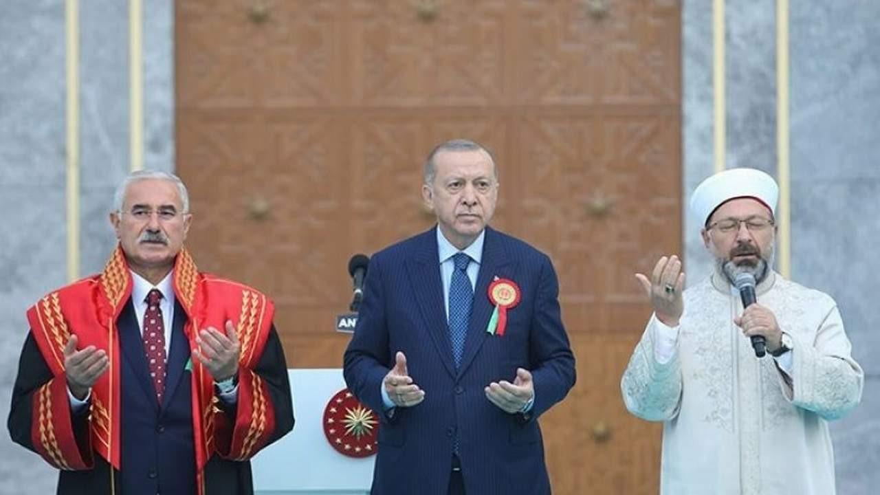 Cumhurbaşkanı Erdoğan, Diyanet İşleri Başkanı Erbaş ve Yargıtay Başkanı Akarca hakkında suç duyurusu