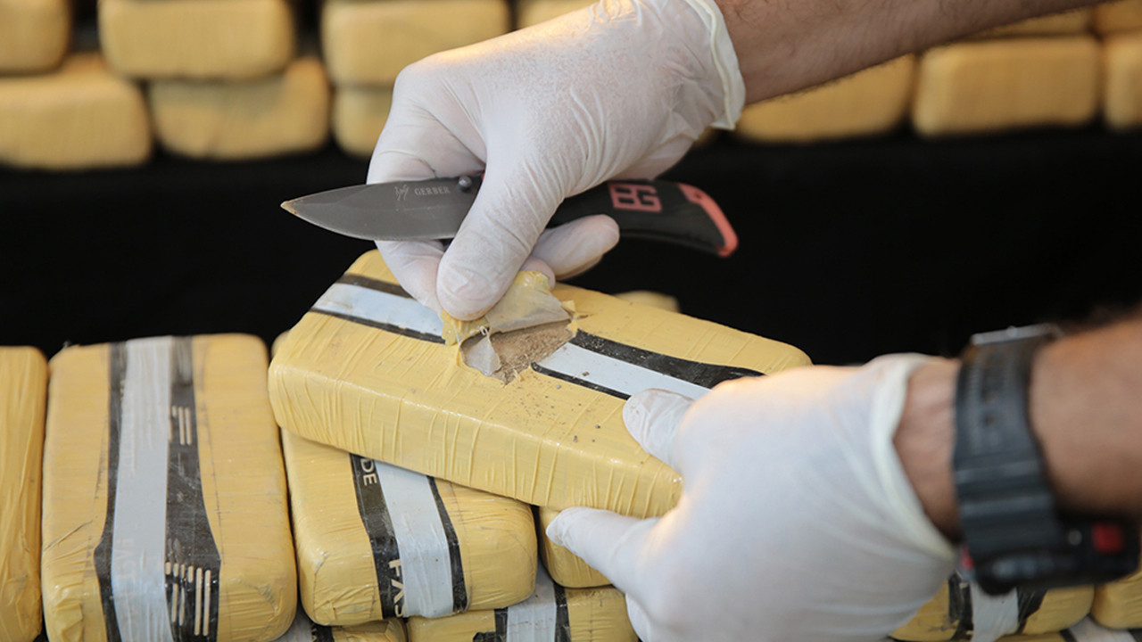 Şanlıurfa'da dev operasyon: 275 kilogram eroin ele geçirildi