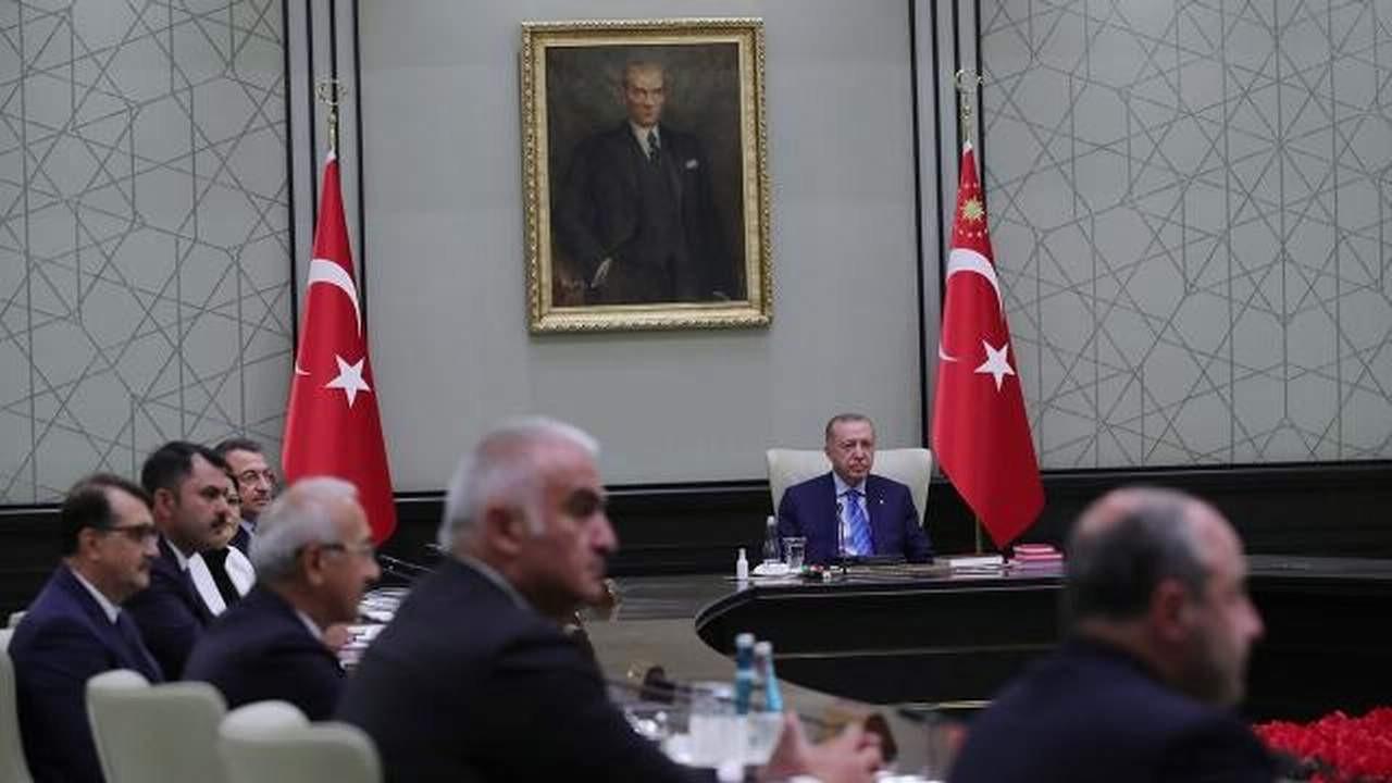 Kritik kabine toplantısı sonrası Cumhurbaşkanı Erdoğan'dan aşı çağrısı