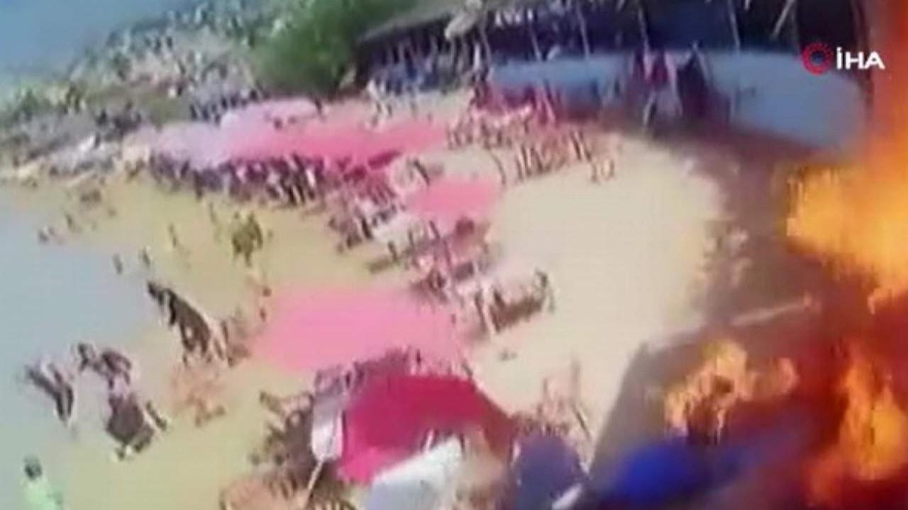 Plajda büyük patlama: 7 yaralı var!
