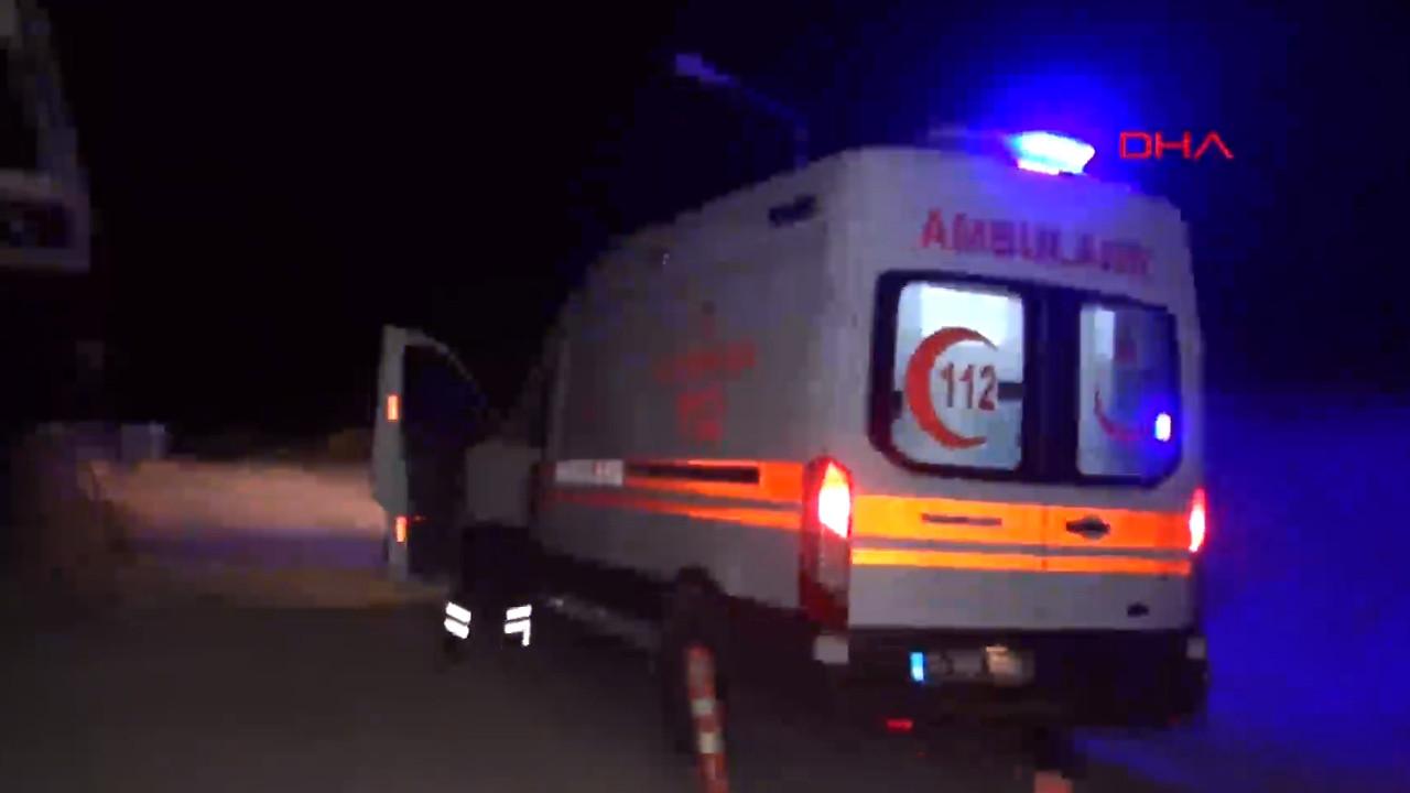 Hastane önünden ambulansı çaldılar