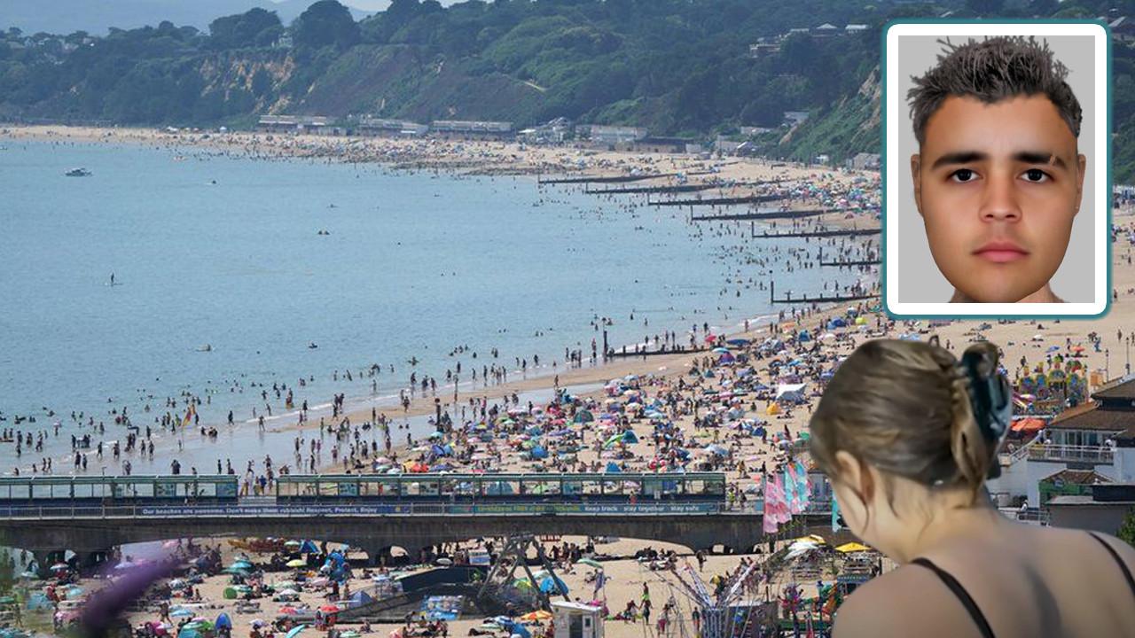 Plajda herkesin gözü önünde tecavüze uğradı