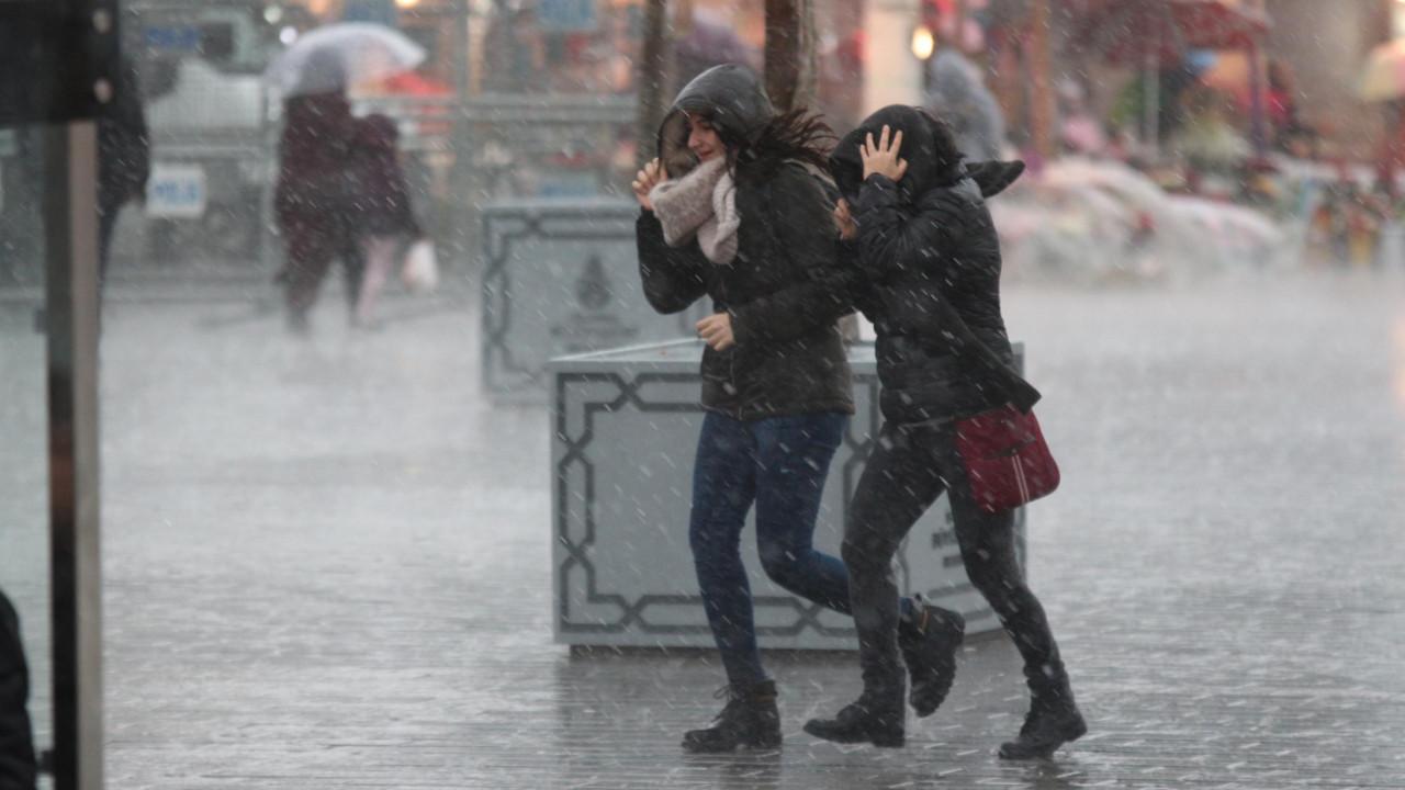 Önce fırtına ardından yağış! Meteoroloji il il uyardı! Hava fena bozacak
