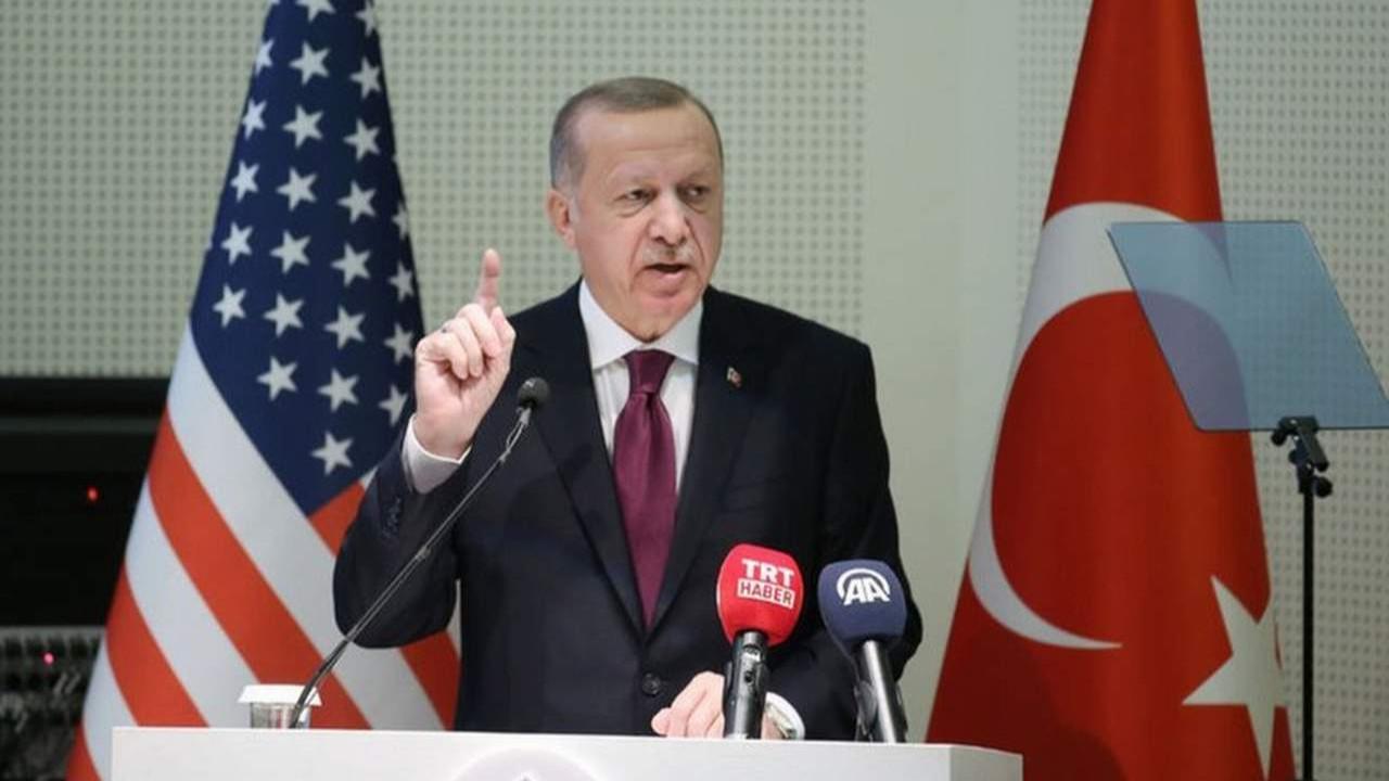 Cumhurbaşkanı Erdoğan'dan ABD'ye gidiyor