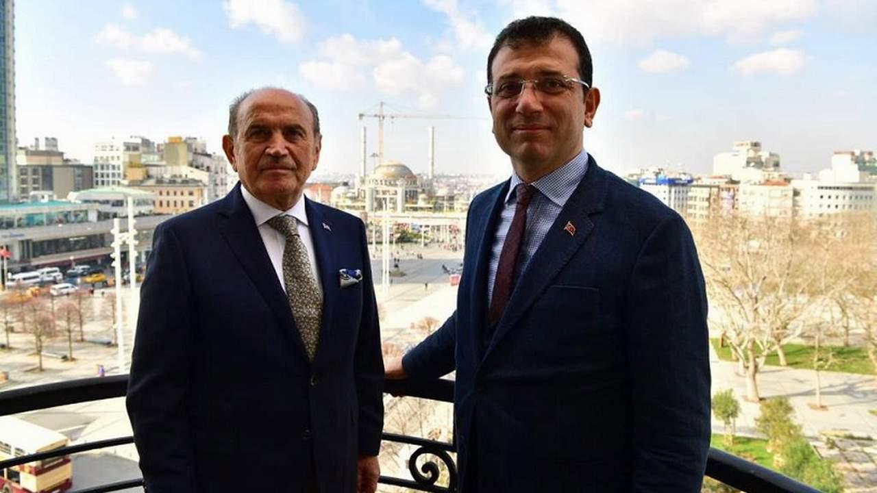 İmamoğlu: ''Kadir Topbaş'a belediye başkanlığı yaptırılmamış''