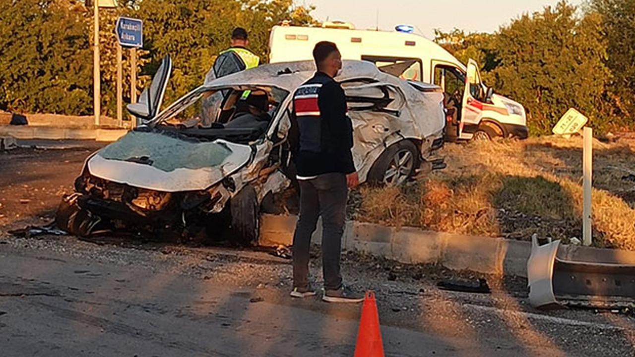 Kırıkkale'de korkunç kaza: 6 kişi öldü