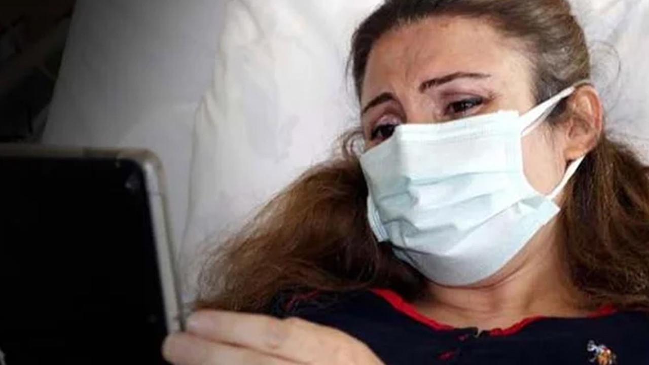 Hamileyken koronavirüse yakalanan kadın bebeğini tabletten görebildi
