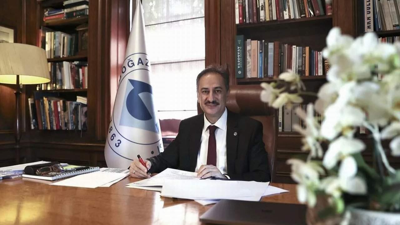 Boğaziçi'nin yeni rektöründen dikkat çeken ''protesto'' açıklaması