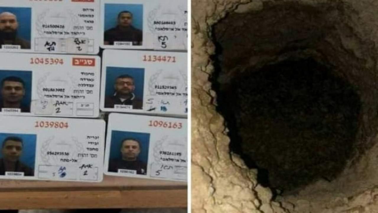 Tünel kazıp firar eden mahkumlar yakalandı