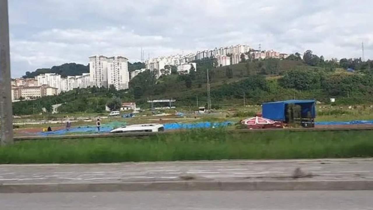 Açılışını Erdoğan yapmıştı... 20 milyon TL'lik israf böyle görüntülendi