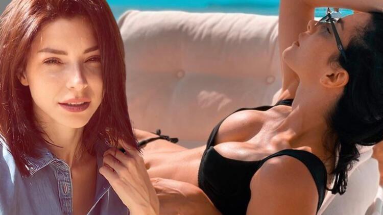 Merve Boluğur'dan bikinili paylaşım - Resim: 1
